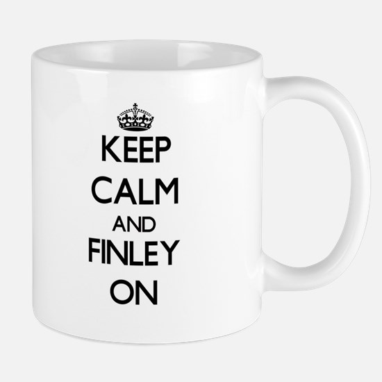 Keep Calm and Finley ON Mugs
