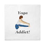 Yoga Addict Queen Duvet