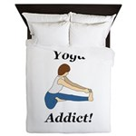 Yoga Addict Queen Duvet