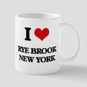 I love Rye Brook New York Mugs
