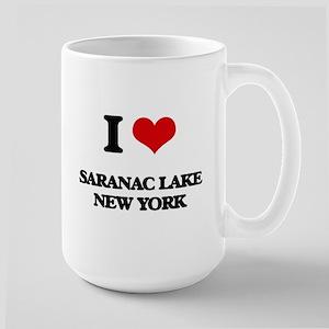 I love Saranac Lake New York Mugs