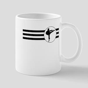 Karate Kick Stripes Mugs