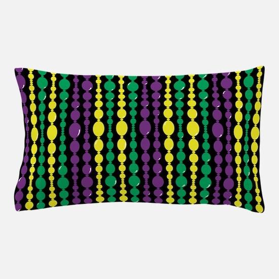 Mardi Gras Bead Curtain Pillow Case