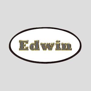 Edwin Gold Diamond Bling Patch