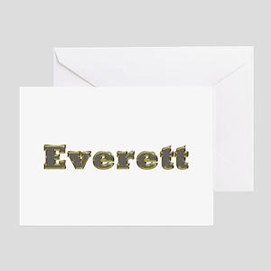 Everett Gold Diamond Bling Greeting Card