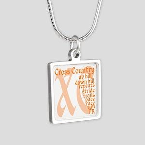 Cross Country XC orange Necklaces