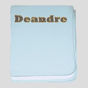 Deandre Gold Diamond Bling baby blanket