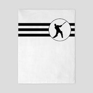 Cricket Player Stripes Twin Duvet