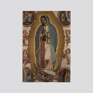 Virgin of Guadalupe. Rectangle Magnet