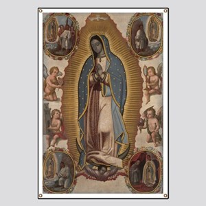 Virgin of Guadalupe. Banner