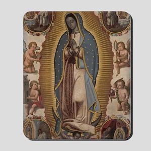 Virgin of Guadalupe. Mousepad