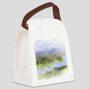 Italian Landscape Canvas Lunch Bag