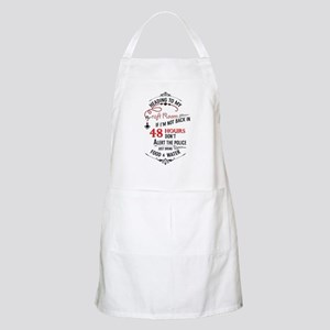 Heading to my craft room Apron