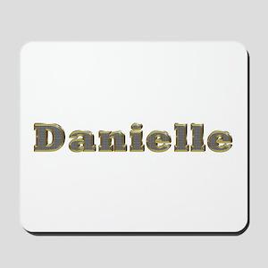 Danielle Gold Diamond Bling Mousepad