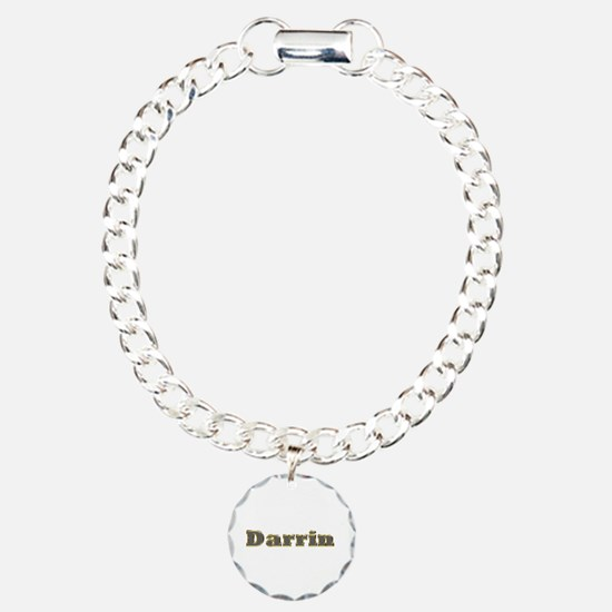 Darrin Gold Diamond Bling Bracelet