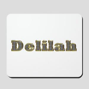 Delilah Gold Diamond Bling Mousepad