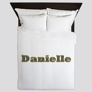 Danielle Gold Diamond Bling Queen Duvet