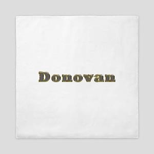 Donovan Gold Diamond Bling Queen Duvet