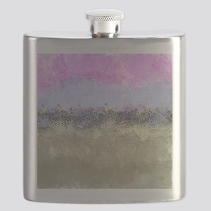 Pastel Abstract Garden Flask