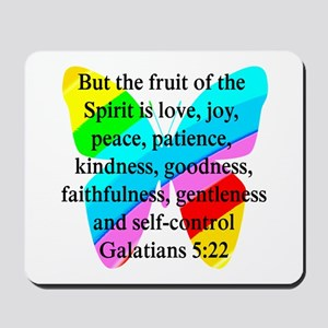 GALATIANS 5:22 Mousepad
