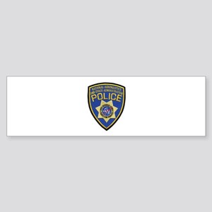 NASA Police Bumper Sticker