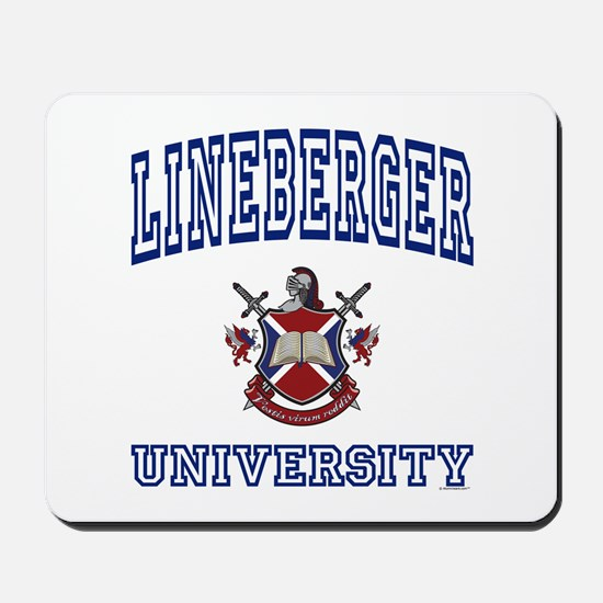 LINEBERGER University Mousepad
