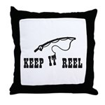 Keep it Reel Throw Pillow