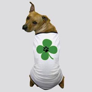 Paw Print 4 Leaf Cover Dog T-Shirt