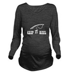 Keep it Reel Long Sleeve Maternity T-Shirt