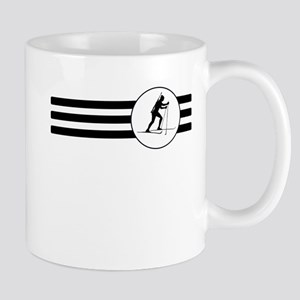 Biathlete Stripes Mugs