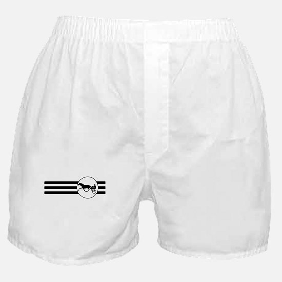 Harness Racing Stripes Boxer Shorts