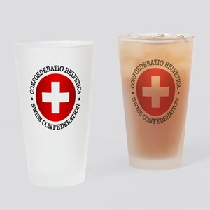 Swiss (rd) Drinking Glass