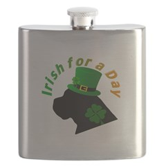Irish Cane Corso Flask