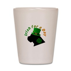 Irish Cane Corso Shot Glass