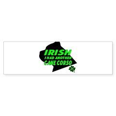 Irish Cane Corso Bumper Bumper Sticker