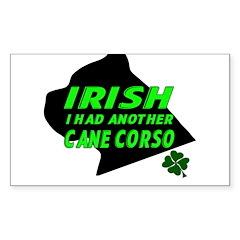 Irish Cane Corso Decal