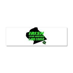 Irish Cane Corso Car Magnet 10 x 3