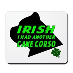 Irish Cane Corso Mousepad