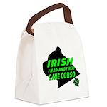 Irish Cane Corso Canvas Lunch Bag