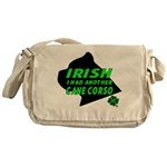 Irish Cane Corso Messenger Bag