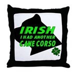 Irish Cane Corso Throw Pillow