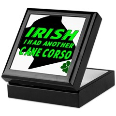 Irish Cane Corso Keepsake Box