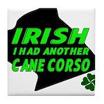 Irish Cane Corso Tile Coaster