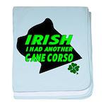 Irish Cane Corso baby blanket