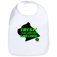 Irish Cane Corso Bib