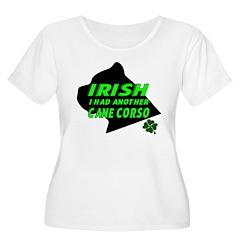 Irish Cane Corso Plus Size T-Shirt