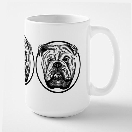 Bulldog Bull Dog Large Mug