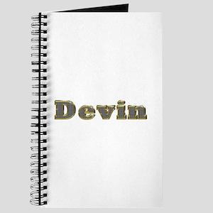 Devin Gold Diamond Bling Journal