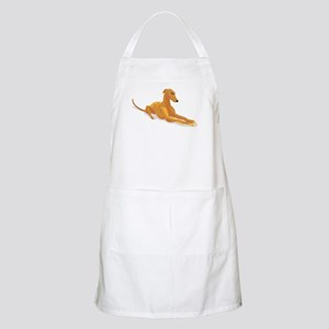 greyhound drawing Apron