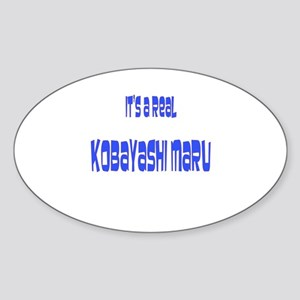 kobayashi maru Oval Sticker